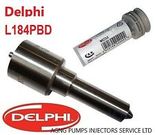 NEW GENUINE DELPHI INJECTOR NOZZLE L184PBD FORD MONDEO ST 2.2 TDCI EJDR00701D