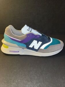 New Balance MADE IN USA 997 Fusion Grey Multi-Color Size 7.5 New w/Box M997SMG