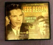 Classic Radio Detectives Stand By 4 Mystery Jeff Reagan Investigator 12 Episodes