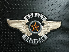 Harley Davidson Patch Aufnäher Lone Star 14x8cm Biker Kutte Chopper MC