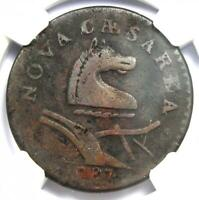 1787 New Jersey Colonial Coin (No Plow Sprig) - Certified NGC VF Details