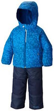 NWT COLUMBIA Boys SNOWSUIT Outgrown SNOWPACK SLOPE SET Blue Navy XS 6 6X