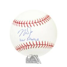 Mike Trout War Machine Autographed Official MLB Baseball - MLB Hologram