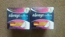Always Radiant Infinity Pads with Flexi-Wings, Fresh Scent, Regular 12 ea /2pk
