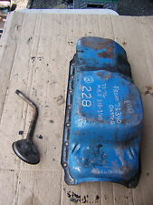 1973 PLYMOUTH DUSTER 340 OIL PAN OEM #228 74 DODGE CHARGER CHALLENGER 75 76