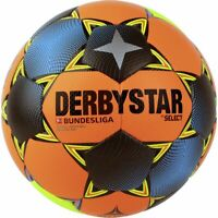 Derbystar Fußball Bundesliga Brillant APS Winter 2020 2021 orange petrol Gr 5