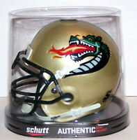 UAB BLAZERS FOOTBALL NCAA COLLEGE AUTHENTC SCHUTT MINI HELMET
