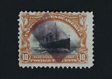 Rectangle Fancy Cancel on 10c Pan-American Fast Ocean Navigation 1901 Scott #299