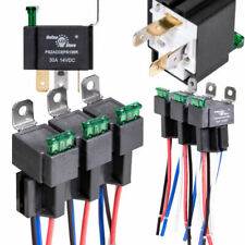 OLS 6 Pack-12v 30a Fuse Relay Switch Harness Set SPST 4-pin 14 AWG Wires Automotive