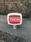 VINTAGE TECH BEER TAP KNOB / HANDLE PITTSBURGH BREWING PITTSBURGH PA IRON CITY