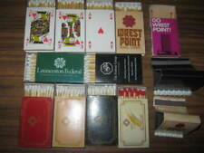 COLLECTABLE MATCHBOXES/BOOKS VINTAGE AND RARE AUSSIE CASINOS LOT 2