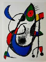 JOAN MIRÓ - ORIG. FARBLITHOGRAPHIE XI - aus Lithograph II 1953 - 1963