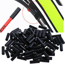 100PCS Bike Bicycle Brake Gear Outer Cable End Caps  Tips 4mm Crimps