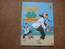 Tintin Action Playbook 2 - 1988 First Edition - extremely rare