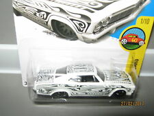 Hot wheels 65 Chevy Impala White and prints 191/250 mint boxed 2015