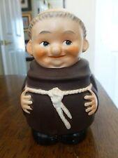 Vintage Goebel Friar Tuck - Bank with Label - no lock or key