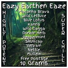 Eazy Earthen Eaze [10 Grams] Herbal High Smoke Mix | Super Potent Chill Blend