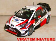 TOYOTA YARIS WRC WINNER RALLYE DE SUEDE 2017 JARI-MATTI LATVALA IXO 1/43