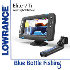 NEW Lowrance Elite-7 Ti Mid/High/TotalScan from Blue Bottle Fishing
