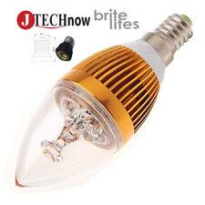 New E14 E12 6W Warm White Light Super Energy Saving LED Bulb