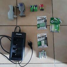 Lot chargeur de piles Energizer Universel + autres ...