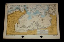 PERROS, France D-Day Planning - Vintage WW2  Map 1943