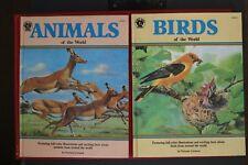 VICTORIA CRENSON - BIRDS OF THE WORLD & ANIMALS OF THE WORLD - BUDGET BOOKS (HC)