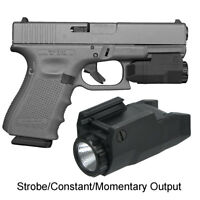 APL-C Scout Light Tactical Handgun Flashlight for Glock Ruger Walther etc Pistol