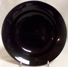 "Waechtersbach Germany 8.5"" Rimmed Soup Plate (Made in Spain) - Black"