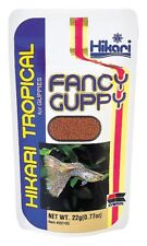 Hikari Fancy Guppy Food 0.77 oz | Semi-Floating Granules for Tropical Fish
