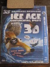 ICE AGE: Continental Drift DVD w/ Mandarin / Cantonese / Eng AUDIO multiple SUBS