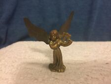 Vintage Brass Angel  Miniature Figurine