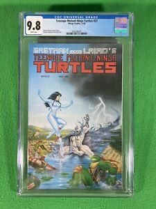 TEENAGE MUTANT NINJA TURTLES TMNT 27- Mirage - CGC 9.8 WHITE - 1989