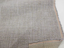 Colore Grigio & Lilla misto lino pesante tappezzeria stoffa. da successivo