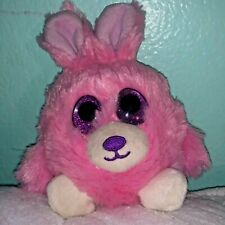 "FIESTA Lubby Cubbies 3.5"" PINK BUNNY Bean Bag Plush Toy Animal"