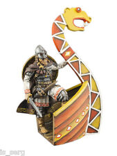 Hand Painted Military Toy Viking warrior handmade sculpture 54mm 1/32 scale