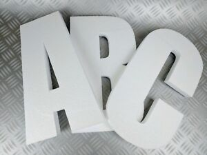3D Polystyrene Decorative Letters/Numbers - 380mm high X 25mm thick