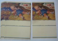 Lot of 25 Old Vintage 1940's - Little Boy Blue - Calendar Art Prints - Stuart