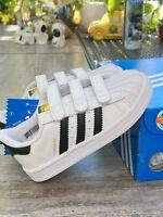 New Adidas toddler shoes SUPERSTAR FOUNDATION CF I (B23637) kids shoes 8k 9k
