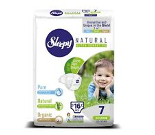 Sleepy Disposable Diapers - Organic Highly Absorbent&Hypoallerge nic Bamboo Baby