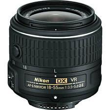 Nikon Af-S Nikkor 18-55mm f/3.5-5.6G Vr Ii Dx Lens New