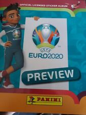 PANINI EURO 2020 PREVIEW (Lot de 100 stickers sans doubles)