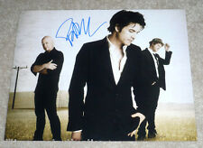 TRAIN SINGER PAT MONAHAN SIGNED BAND 11X14 PHOTO W/COA DRIVE BY MEET VIRGINIA