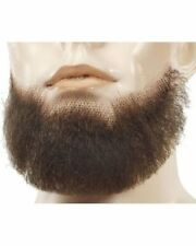 5-POINT 5 POINTS CHIN GOATEE BEARD BLACK BROWN GREY TOUPEE TAPE
