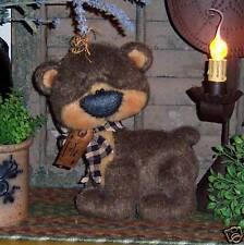 Primitive Raggedy Teddy Brown Cub Bear Doll Paper Pattern 561