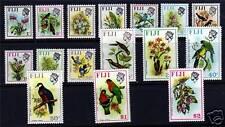 Fiji 1971 Birds & Flowers Definitives SG435/50 MNH