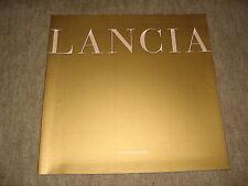 Lancia Phedra Prospekt Brochure von 8/2002, 34 Seiten
