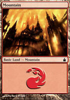 mtg Magic the Gathering MOUNTAIN x24 basic land lot card red mana mixed