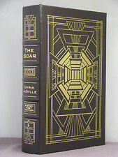 1st,signed by author,The Scar by China Mieville,Easton Press,winner of 3 awards