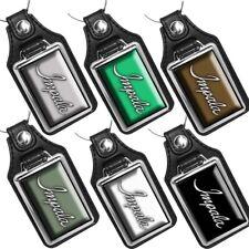 1969 Chevrolet Impala Emblem Car Colors Emblem Design Faux Leather Key Ring